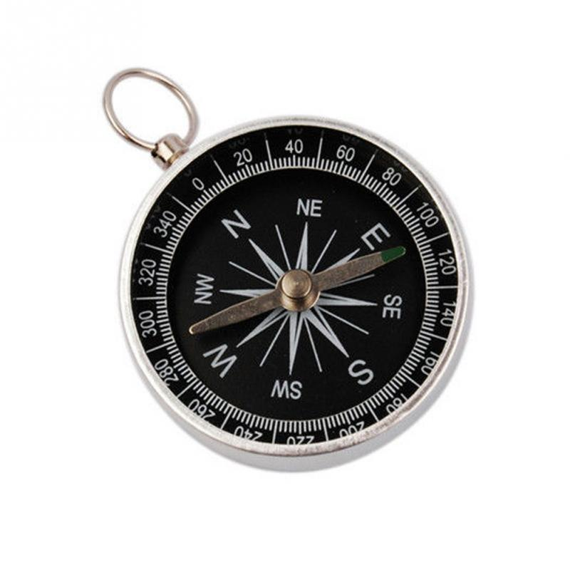 Outdoor Sports Professional Hiking Lightweight Aluminum Wild Survival Compass Navigation Tool