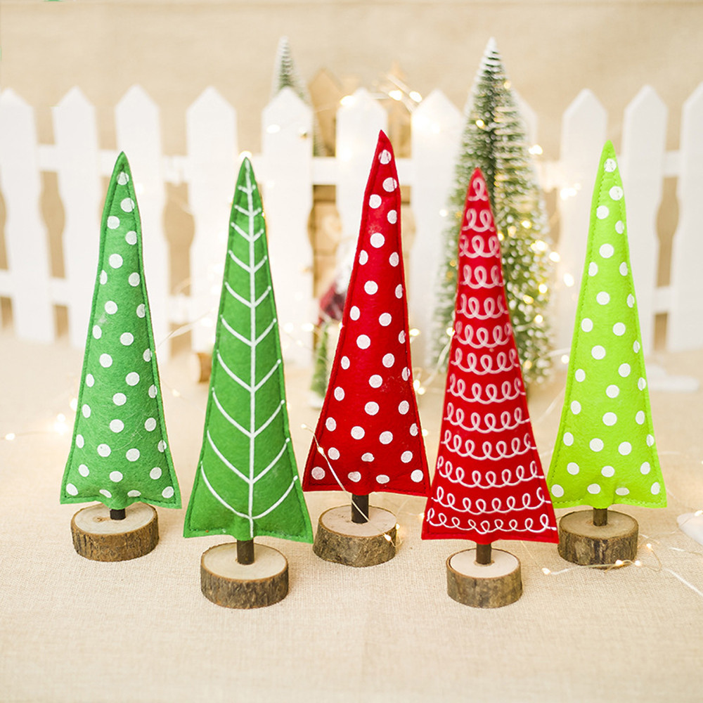 Home Decor Enthusiastic 2018 New Arrive 8.5x29cm Merry Christmas Tree Cloth Desk Decoration Toy Doll Gift Office Home Children Home Decor Drop Shipping