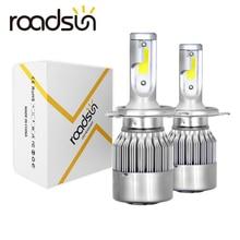 Roadsun Auto Lichter Lampen LED H7 H4 H11 H1 H3 H13 880 9004 9005 9006 9007 9003 HB1 HB2 HB3 HB4 H27 Auto Scheinwerfer 12V Led Licht
