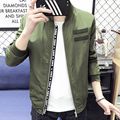 Fashion spring autumn men windbreaker bomber jacket men thin Casual jacket baseball trends Sports varsity military camouflage