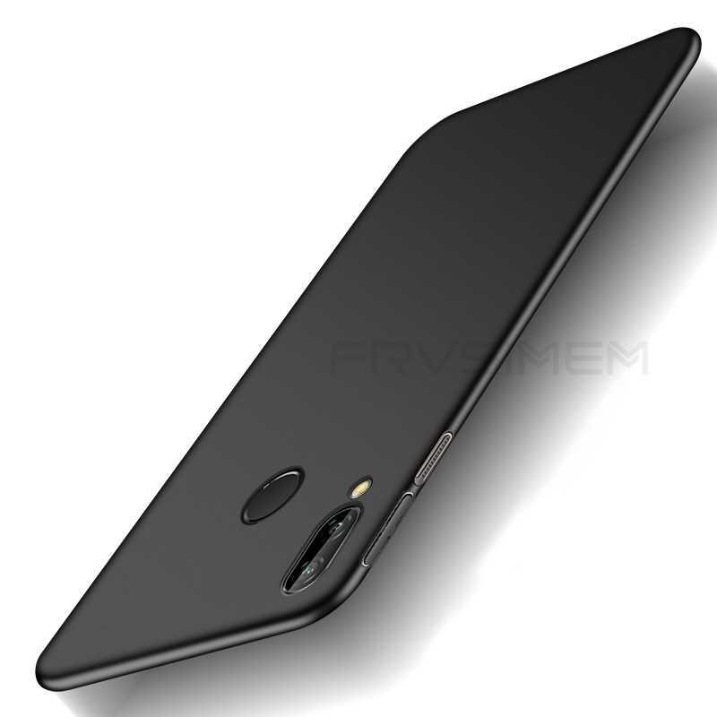 Kılıf Kapak Mat Sert PC Huawei P20 P10 Lite P Akıllı Artı Nova 3 3i 3e 2 2i Onur 9 10 Y5 Y6 Y7 Pro Başbakan 2018 Y9 Tam Durumlarda