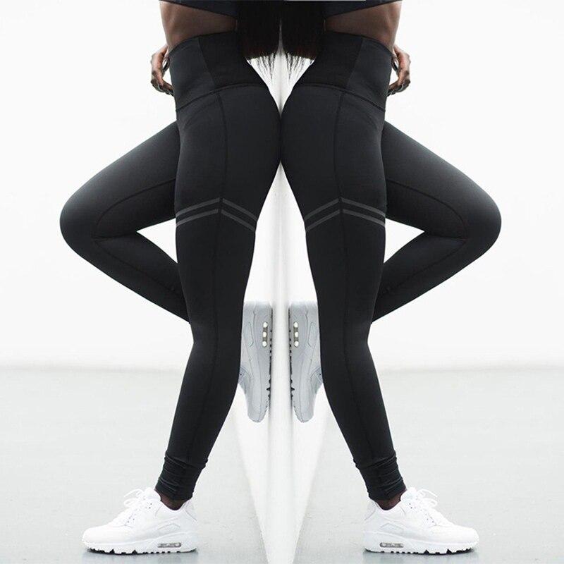 2020 Hot Women Yoga Pants Fitness Sport Leggings Tights Slim Running Sportswear Sports Pants Quick Drying Training Trousers 2