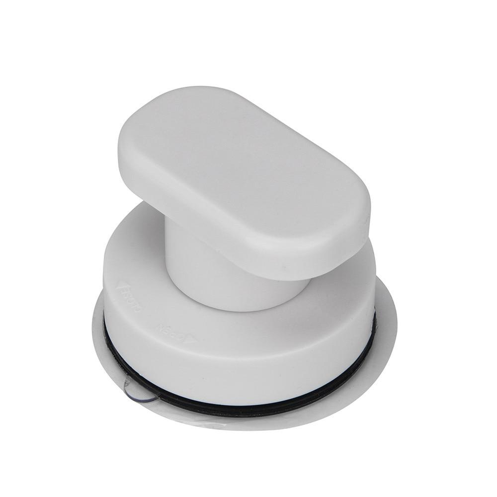 Bathroom White Bath Safety Handle Suction Cup Handrail Grab Bathroom Grip Tub Shower Bar Rail