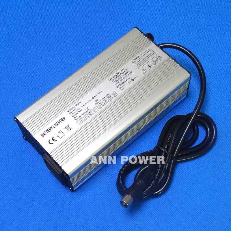 LiFePO4 Battery 48V 4A Charger E-bike Battery Charger 58.4V 4A For 16S 48V 10Ah/20Ah/30Ah/40Ah lifepoe battery charging