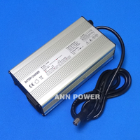 LiFePO4 Battery 48V 4A Charger E bike Battery Charger 58.4V 4A For 16S 48V 10Ah/20Ah/30Ah/40Ah lifepoe battery charging