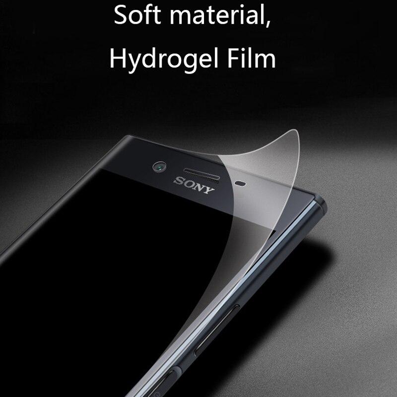 Hydrogel Film for sony xperia x 3D Screen Protector Protective Film for sony xperia xa  XZ PREMIUM XA 1 XA1 PLUS XZ1 2 3 Compact