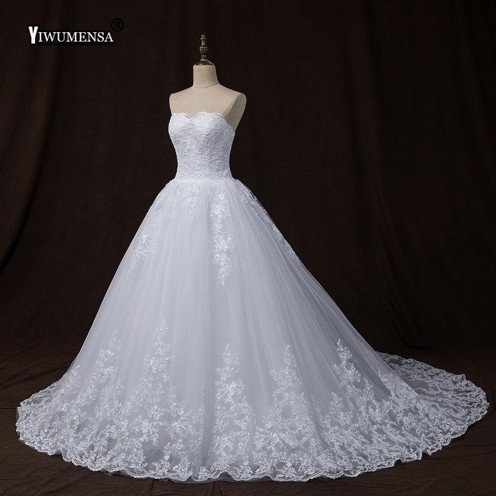 YiWuMenSa Последние Кружева корсет свадебные платья плюс Размеры свадебные платья свадебное платье Турция bruidsjurken халат де mariée платье невесты