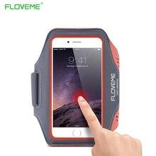 FLOVEME Работает Спорта Водонепроницаемый Повязки Для iPhone 7 6 6s Случае для Samsung Galaxy S4 S3 A3 4.7 Дюймов Телефон Сумка Аксессуары капа