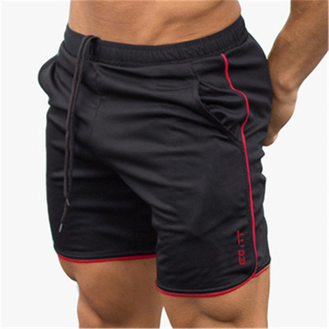 Men's Casual Summer Shorts Sexy Sweatpants Male Fitness Bodybuilding Workout Man Fashion Crossfit Short pants