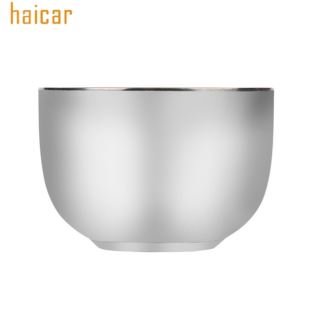 HAICAR Love Beauty Female  Mens High Quality Stainless Steel Silver Bowl Cup For Shave Brush Drop Shipping 180314 drop ship 1