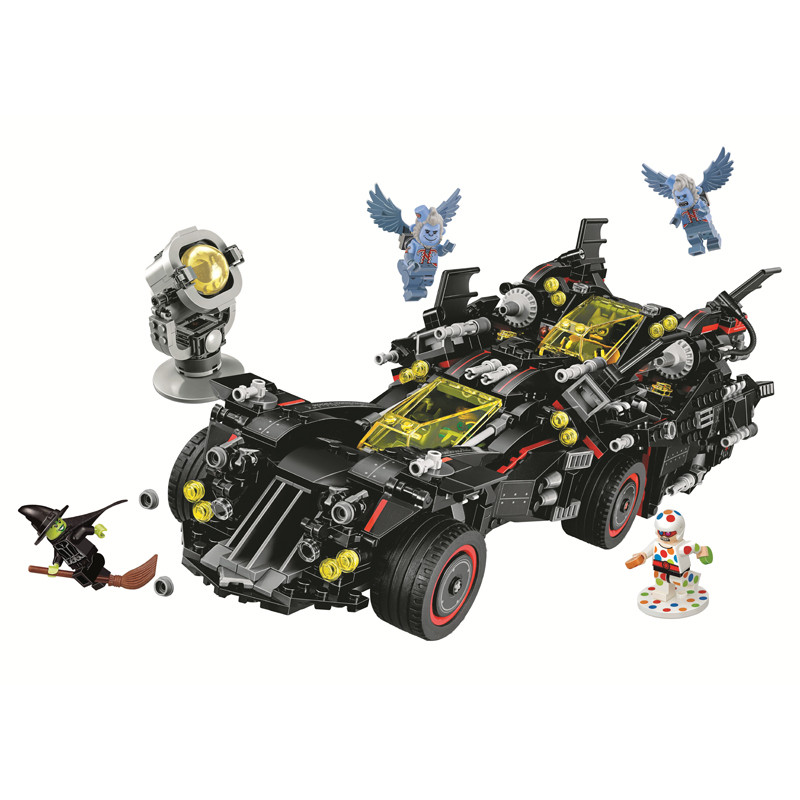 10740 Batman Movies Series The Ultimate Batmobile Compatible Legoe Marvel Super Heroes Building Blocks Bricks Toys china brand bricks toy diy building blocks compatible with lego batman movie the batmobile 70905