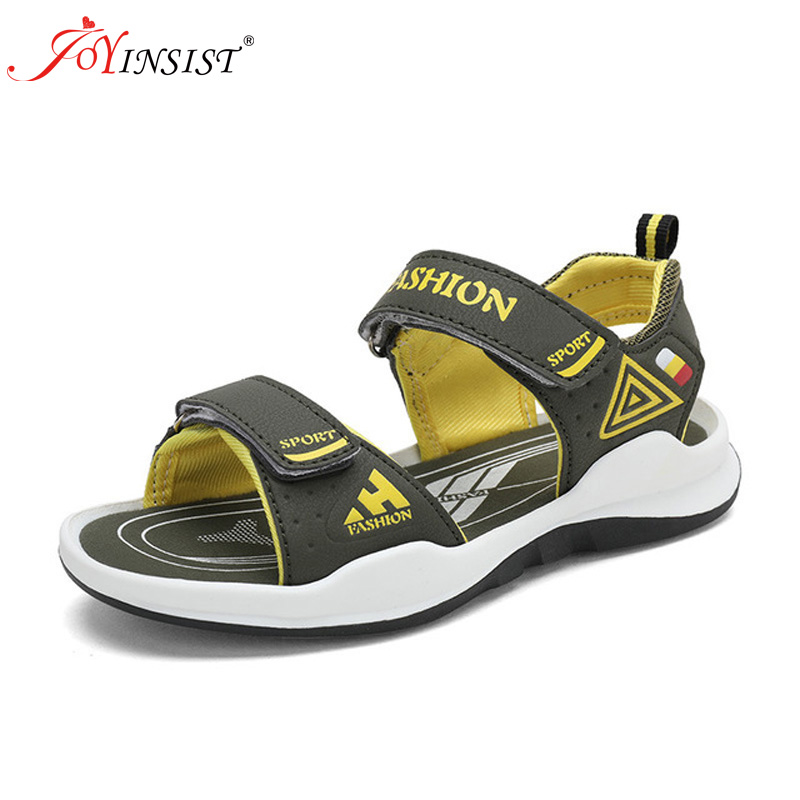 Summer Boys Sandals Kids Breathable Mesh Water Beach Shoes Outdoor Sport Closed-Toe Anti-slip Casual Shoes for Big BoysSummer Boys Sandals Kids Breathable Mesh Water Beach Shoes Outdoor Sport Closed-Toe Anti-slip Casual Shoes for Big Boys