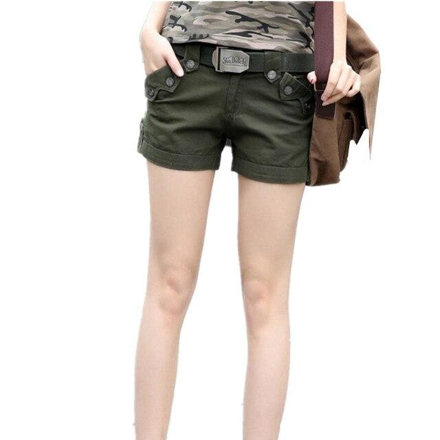 Camouflage Korte Broek Dames.Zomer Womens Tactische Camouflage Shorts Vrouwelijke Hoge Kwaliteit