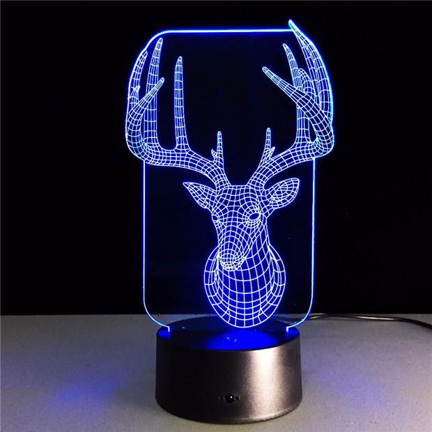 Deer Bedroom Lampe 6