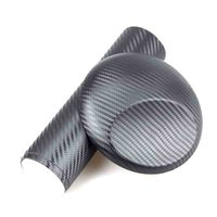 200cm 30cm 3D Carbon Fiber Vinyl Car Wrap Sheet Roll Film Car Stickers And Decals Motorcycle