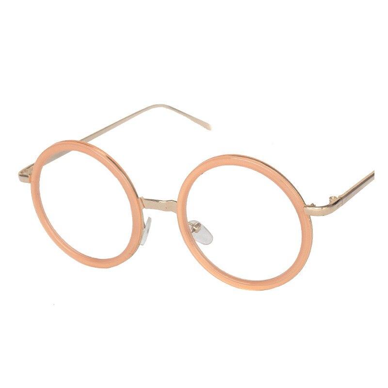Rodada Óculos de Leitura Multifocal Progressiva de Metal Das Mulheres Dos Homens Óculos Anti Radiação Óculos B65501-07