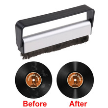 Antistatic Carbon Fiber Vinyl Record Dust Cleaner Brush