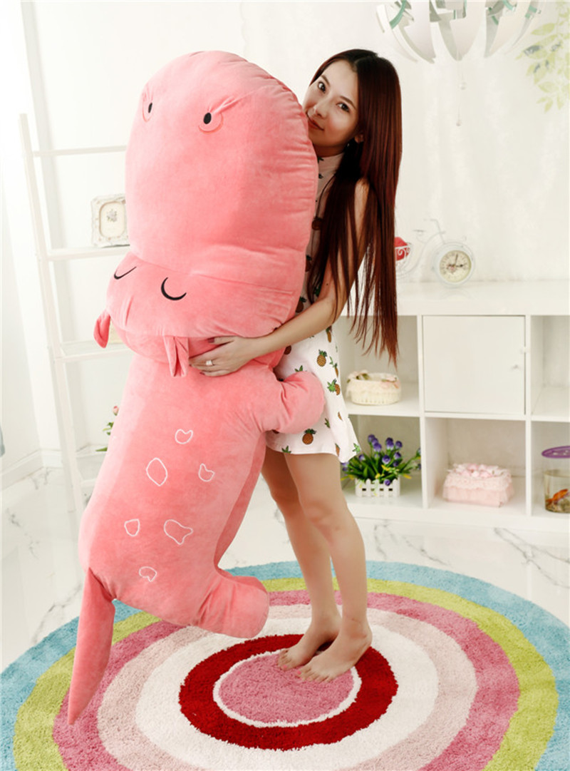 large 160cm pink hippo plush toy soft sleeping pillow ,birthday gift h748 the huge lovely hippo toy plush doll cartoon hippo doll gift toy about 160cm pink