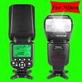 Triopo tr-586ex para d3300 nikon d750 d800 d3200 d7100 d5100 dslr câmera in-568ex speedlite como yongnuo yn565ex flash ttl sem fio