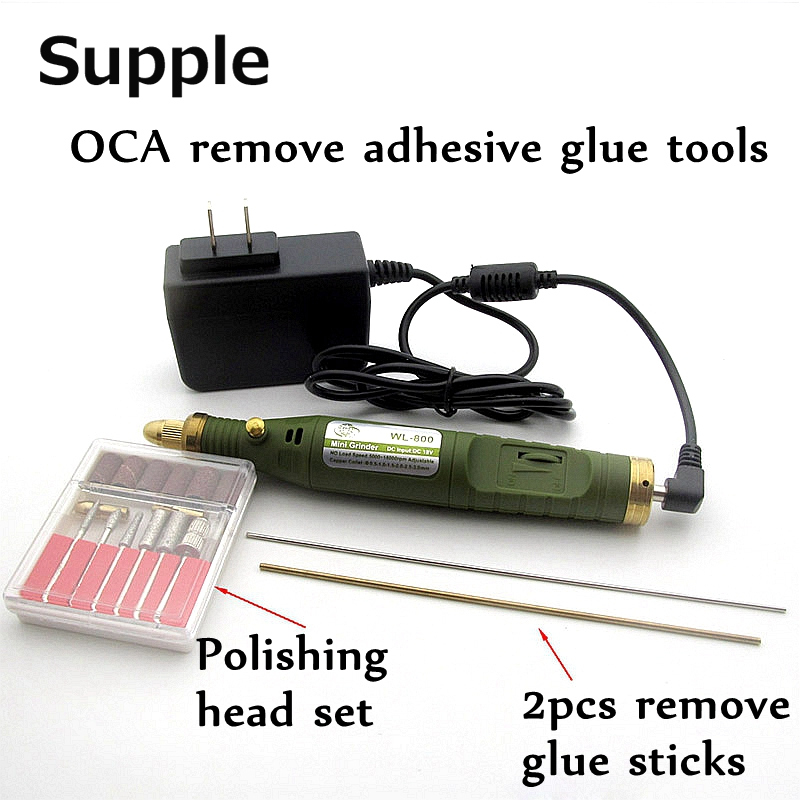 Supple LCD screen removal of OCA adhesive glue tool Electric drill Grinding machine clean for iphone screen etc renovation tools