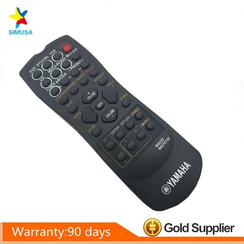 YAMAHA RAV22 Remote Controls RX-V340 RX-V350 RX-V357 RX-V359 RX-V390 HTR58 RX-V357 HTR5830 RX-V459 HTR5630 HTR5830 HTR5730 1pcs universal remote control suitable for yamaha rav22 wg70720 home theater amplifier cd dvd rx v350 rx v357 rx v359 htr5830