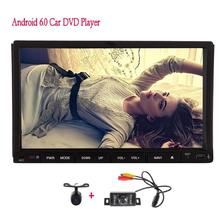 Android 6.0 two 2 din Car DVD gps Player Auto Stereo GPS Navigation Auto Radio Audio  Mirrorlink WiFi 1080P+Front&backup camera