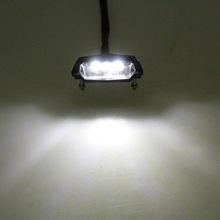 Universal Adjustable Rear Lisence Number Plate Light 12V 3 LED Lamp for Trailer Car