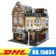 IN Stock DHL 15034 4210Pcs MOC The New Building City Set Building Blocks Bricks Educational Toy Model As Christmas Gifts