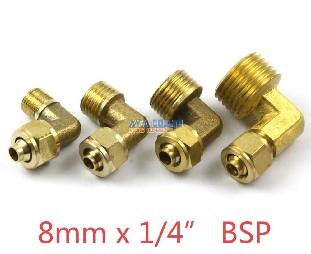 """10 X Nueva de 1//2 /""""de latón de compresión PAC Stop Tapa Válvula de latón de compresión de montaje"""