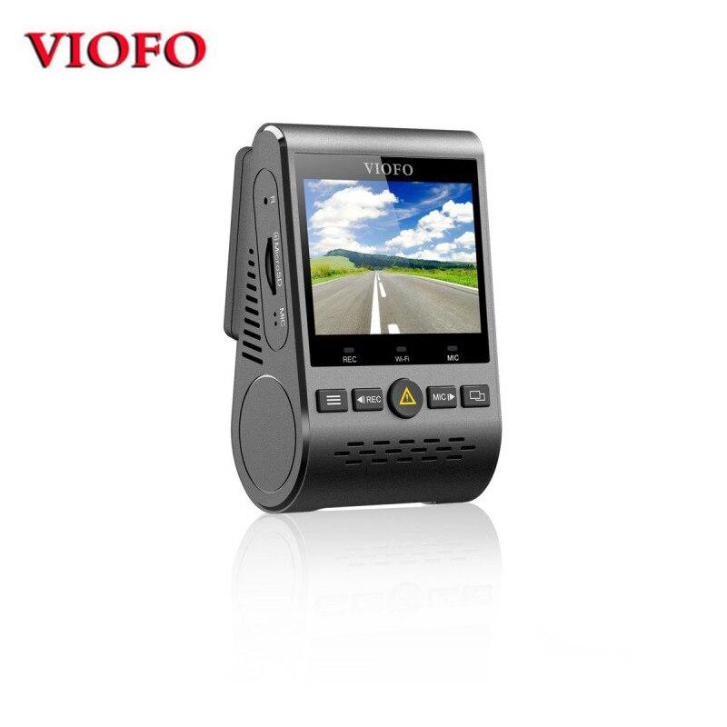 VIOFO A129 A Doppio Canale 5 ghz Wi-Fi Full HD del Precipitare Della Macchina Fotografica DashCam IMX291 Dual Starvis Sensore HD 1080 p Auto DVR Telecamera Posteriore Opzionale