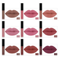 24 Colors Matte Liquid Lipstick Waterproof Long Lasting Lip Gloss Lint Makeup Cosmetics 4