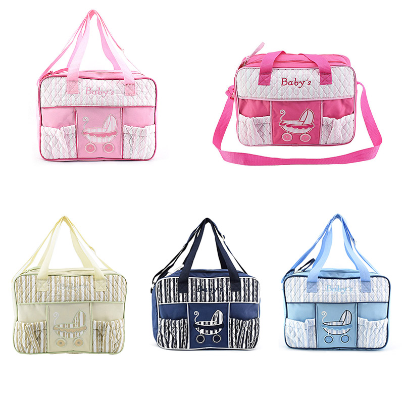 MrY Women Fashion Mommy Nursing Bag Cotton Print Mummy Maternity Nappy Bag  Waterproof New