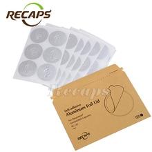 120/240/360 pcs adhesive aluminum lids Nespreso seals filling empty Nespresso disposable capsule DIY Original Nespresso Capsules