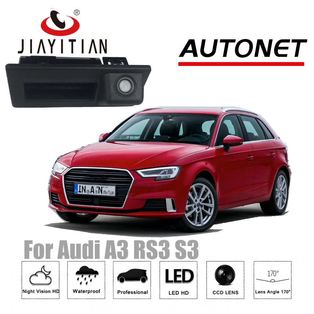 JIAYITIAN Rear View Camera For Audi A3 S3 RS3 2016~2017/Original Factory Style / Instead of Original Factory Trunk Handle Camera