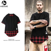 HZIJUE 2017 New Men S Knaye T Shirt Justin Bieber Fashion Hip Hop Short Sleeve High