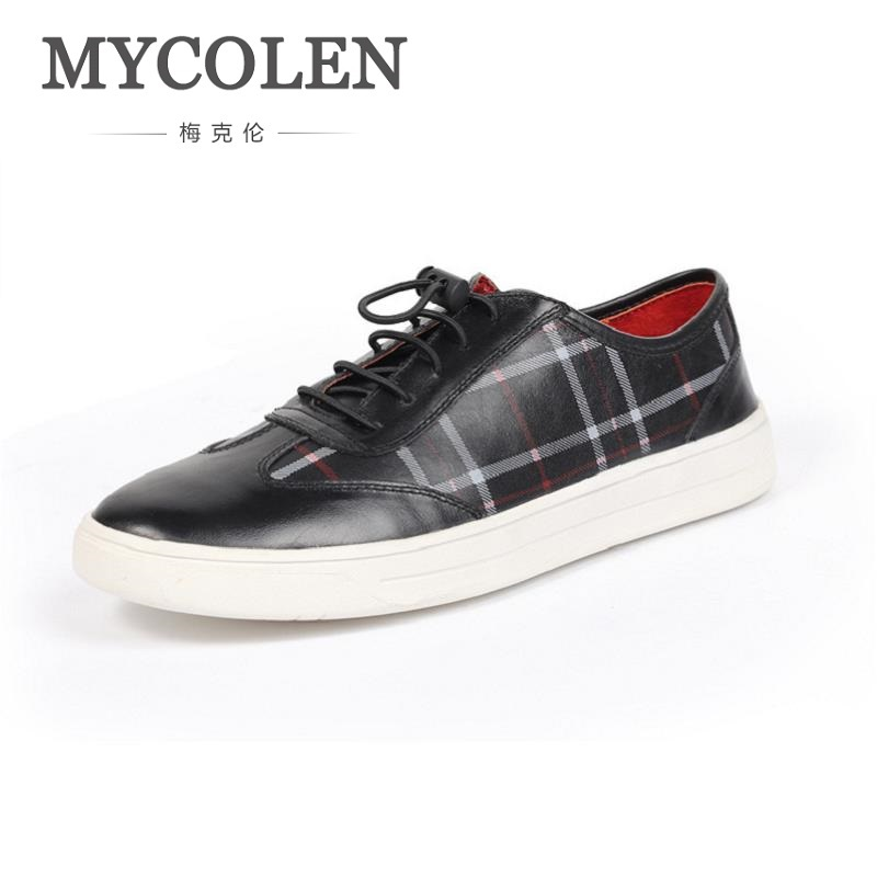 MYCOLEN The New Listing Leisure And Comfortable Soft Male Pants Shoes New Men Casual Flat Shoes Lightweight Footwear Sapato bimuduiyu new england style men s carrefour flat casual shoes minimalist breathable soft leisure men lazy drivng walking loafer