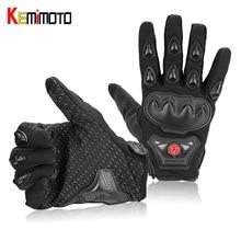 KEMiMOTO Spring Summer Luvas Motorcycle Gloves Men Women Full Finger Motocross Racing Moto Dirt Bike Protective MX Guantes