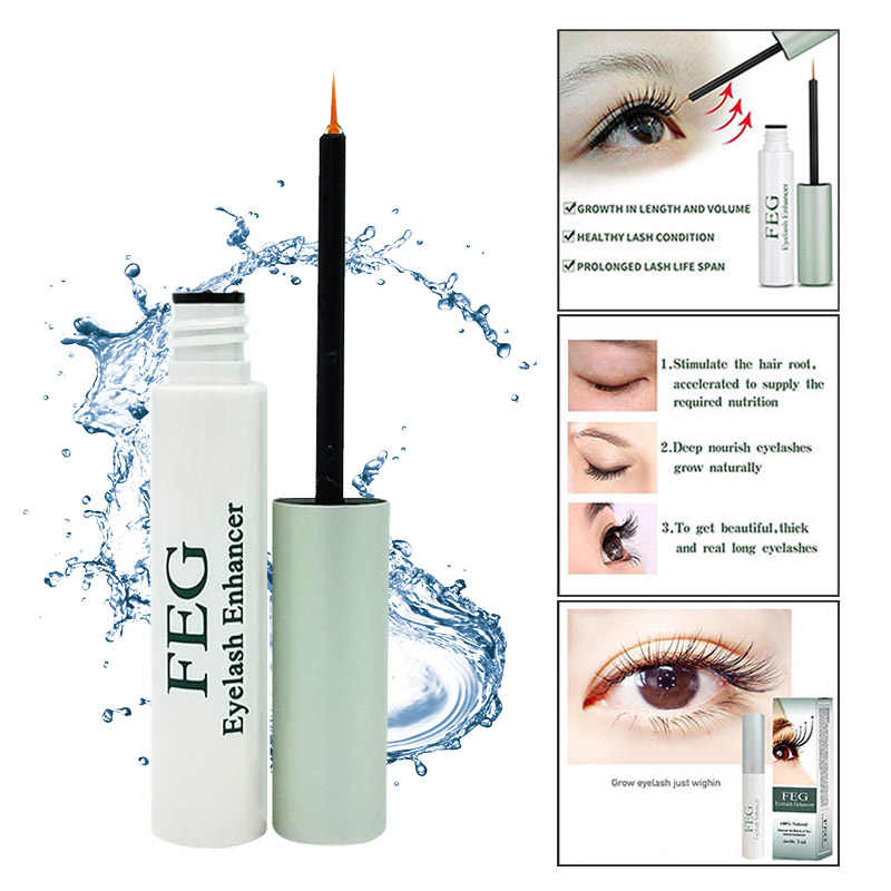 17401aedca8 ... FEG Eyelash Growth Liquid Powerful Makeup Eyelash Growth Treatments  Serum Enhancer Eye Lash FEG Eyelash Growth