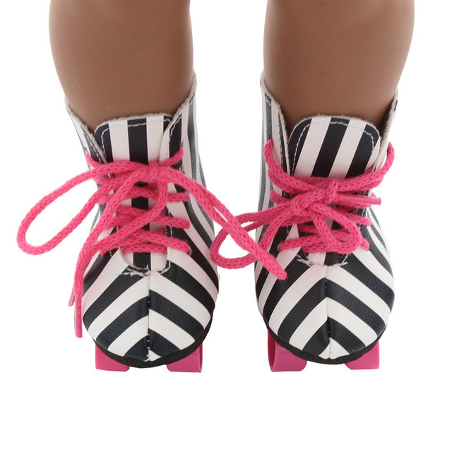 Bjd Doll Shoes 18 inch doll clothes gifts for children Zapf Dolls Accessories american girl doll clothes baby born clothes 43cm 3