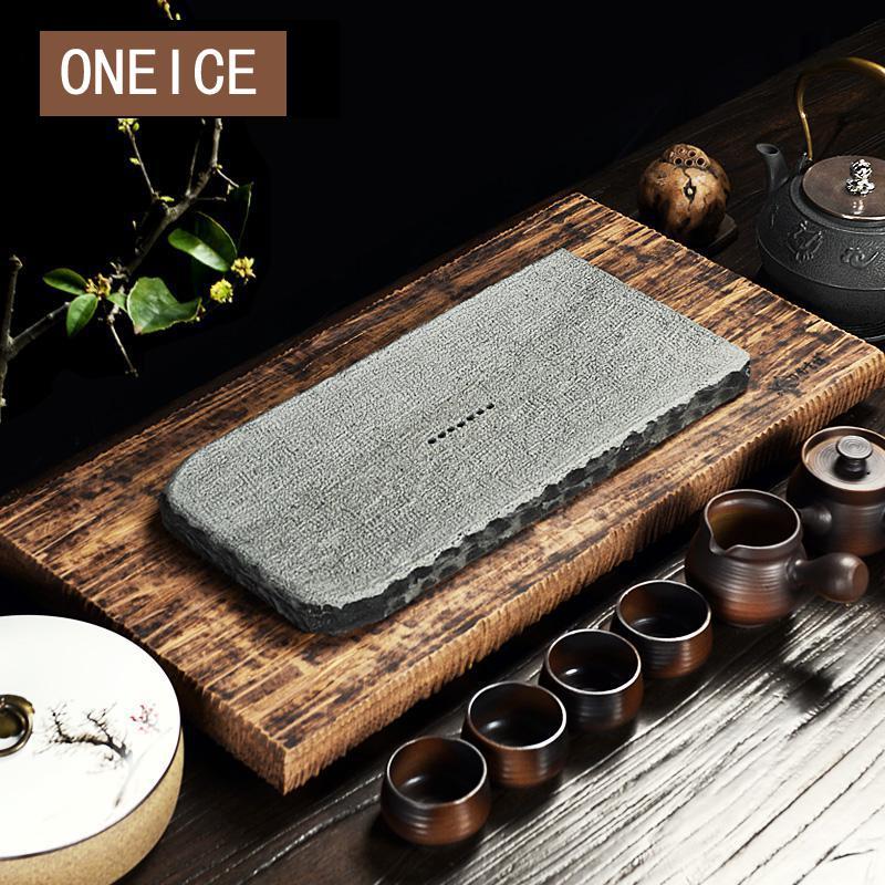 Tea Sea Tea Tray Heavy Bamboo Stone Kungfu Set Creative ...