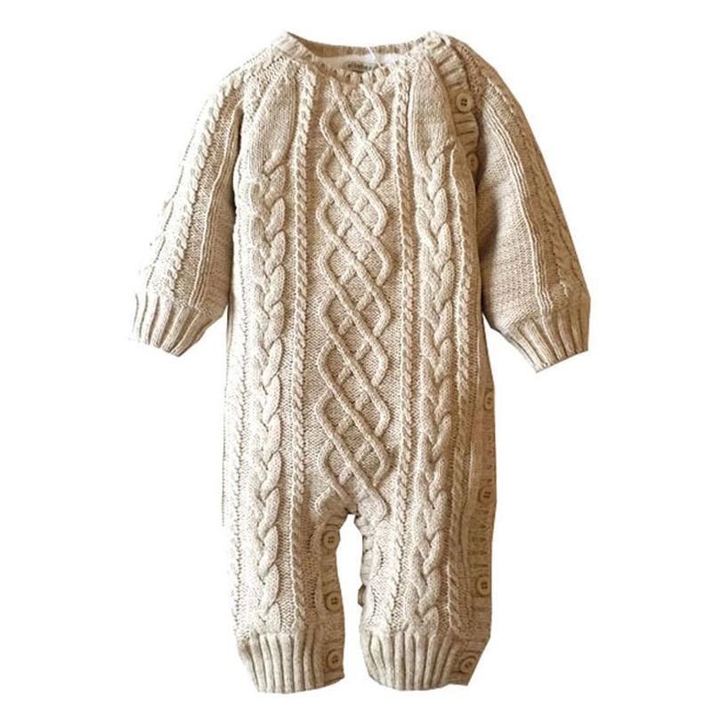 Baby Romper Nova zima Jesen Mehka Unisex odebeljena kapuca O-vrat Topla otroška oblačila Moda Infantil Menino XL01