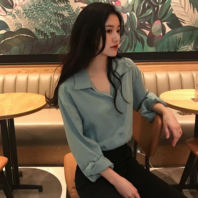 Günstige großhandel 2018 neue sommer Heißer verkauf frauen mode casual damen arbeit Shirts L386