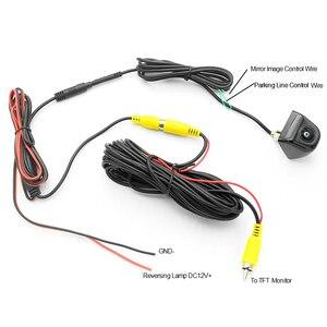 Image 4 - 170 degrés Starlight Vision nocturne Sony/CCD Fisheye lentille voiture recul caméra de recul pour moniteur de véhicule Android DVD