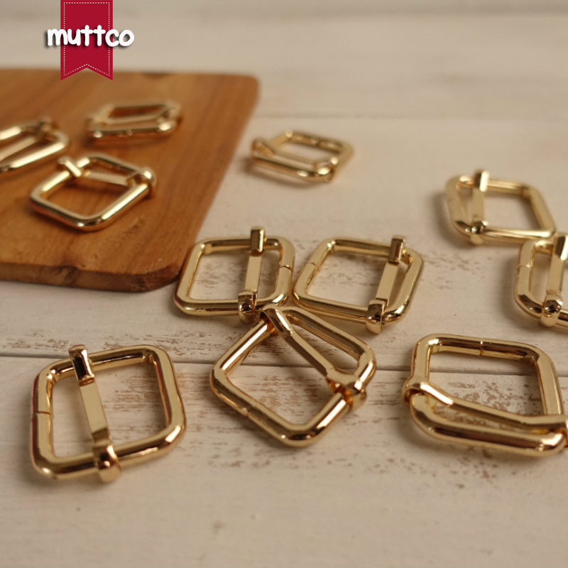 20sets/lot (metal buckle+adjust buckle+D ring/set) DIY dog collar accessory golden 2.0cm engraved buckle kirsite customize LOGO-in Buckles & Hooks from Home & Garden    3