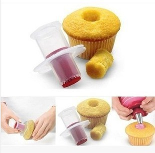 2019 Brand New Eco-Friendly Cake Tools Cupcake Plunger Cutter Creative DIY Cake Corer Decorating Divider ma