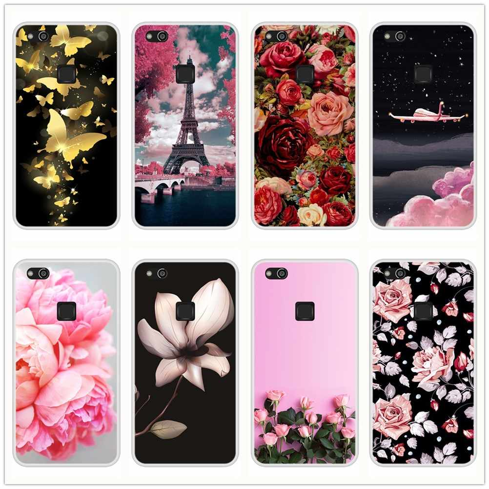 Silicone Case For Huawei P10 P9 P Smart Plus P20 Lite Pro Soft TPU Back Cover For Huawei P9 P8 P10 P20 Lite 2017 Phone Case