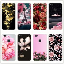 Silicone Case For Huawei P10 P9 P Smart Plus P20 Lite Pro Soft TPU Back Cover For Huawei P9 P8 P10 P20 Lite 2017 Phone Case(China)