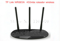 TP Link Wireless Router TL WR885N Roteador Wireless 450Mbs 3 Wi fi Antenna Roteador Adsl Networking Wifi Router Free Shipping