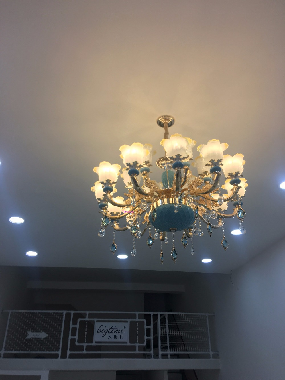French Luxury Crystal Chandelier Living Room Crystal Lighting Bedroom European Style Hand Painted Zinc Alloy Chandelier Lamp цена