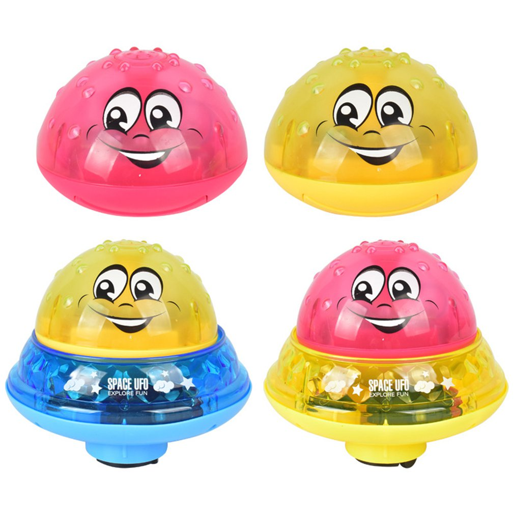 Infant Children'S Electric Induction Sprinkler Toy Light Music Baby Bathroom Play Bath Toy Care Baby